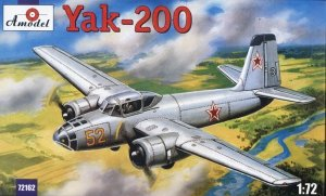 A-Model 72162 Yak-200 1:72