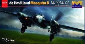 HK Models 01E016 de Havilland Mosquito B Mk.IX/Mk.XVI 1/32