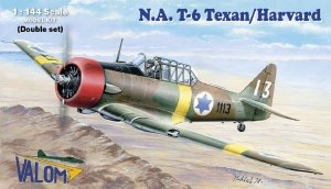 Valom 14410 North American T-6 Texan/Harvard (double set) 1/144