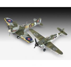 Revell 63710 Combat Set Messerschmitt Bf109G-10 & Spitfire Mk.V  1/72