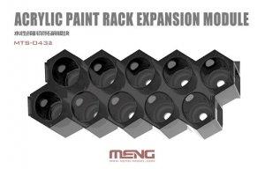 Meng Model MTS-043a Modular Acrylic Paint Rack Expansion