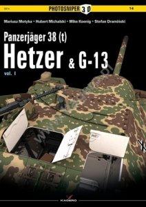Kagero 0014 Panzerjäger 38 (t) Hetzer & G13 EN