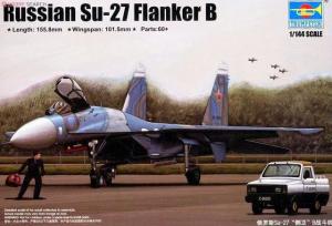 Trumpeter 03909 Russian Su-27 Flanker B 1/144