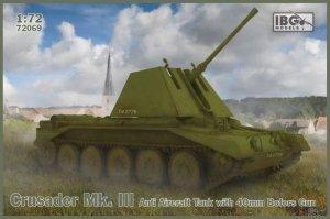 IBG 72069 Crusader Mk. III Anti Aircraft Tank with 40mm Bofors Gun 1/72
