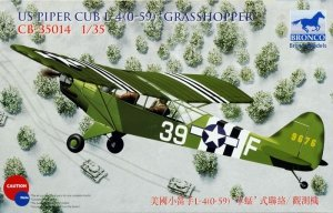 Bronco CB35014 1:35 Piper Cub L4 Grasshopper