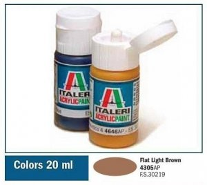 Italeri 4305 FLAT LIGHT BROWN 20ml