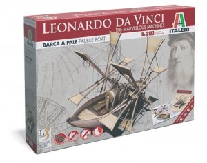 Italeri 3103 Leonardo Da Vinci marvellous machine-Paddle ship