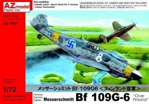 AZ Model AZ7434 Messerschmitt Bf 109G-6 Over Finland (1:72)