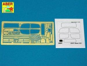Aber 48047 Citroen Traction 11 CV Staff car (1:48)