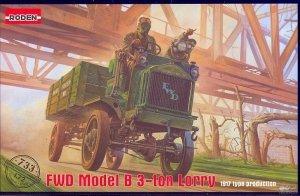 Roden 733 FWD Model B 3 Ton Lorry