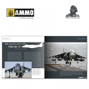 HMH Publications DH-011 BAE Systems Harrier II & Boeing AV-8B Harrier II (Plus) (English VErsion)