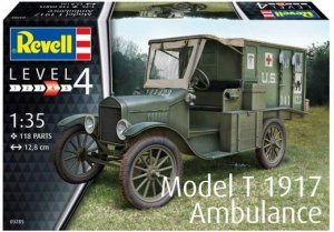 Revell 03285 Model-T 1917 Ambulance 1/35