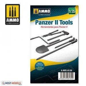 Ammo of Mig 8130 PANZER II TOOLS 1/35