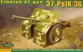 ACE 72534 Finnish AT gun 37 PstK/36 (1:72)