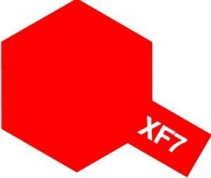 Tamiya XF7 Flat Red (81707) Acrylic paint 10ml
