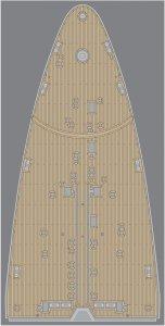 Pontos 35023WD1 RN Roma Wooden Deck set (1:350)