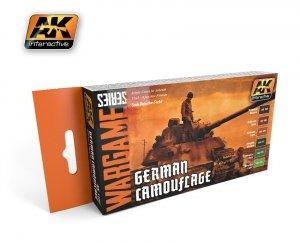 AK Inetractive AK 1167 german camouflage set (wargame series)