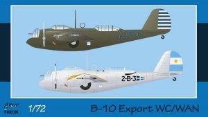 Azur FR0043 B-10 Export WC/WAN 1/72