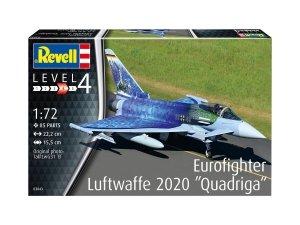 Revell 03843 Eurofighter Luftwaffe 2020 Quadriga 1/72