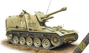ACE 72453 AMX Mk.61 105mm self-propelled howitzer 1/72