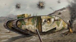 Airfix 02337V WWI Female Tank 1/76