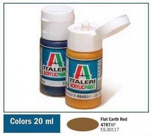 Italeri 4707 FLAT EARTH RED 20ml