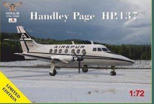Sova 72008 Handley Page HP137 Jetstream 1/72