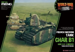 Meng Model WWT-016 World War Toons Char B1 French Medium Tank