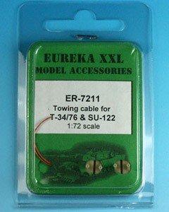 Eureka XXL ER-7211 T-34/76 i dział samobieżnych SU-85/100/122 1:72