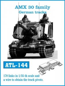 Friulmodel 1:35 ATL-144 AMX 30 family German tracks