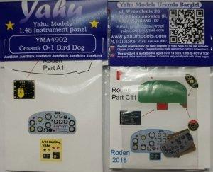 Yahu YMA4902 O-1 Bird Dog (Roden) 1/48