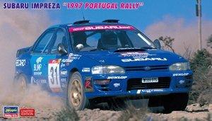 Hasegawa 20483 Subaru Impreza 1997 Portugal Rally 1/24