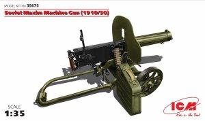 ICM 35675 Soviet Maxim Machine Gun (1910/30) 1/35