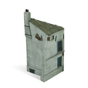 Vallejo SC112 Scenics French house corner 25x11 cm 1/35