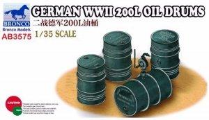 Bronco AB3575 German WWII 200L Oil Drums 1/35
