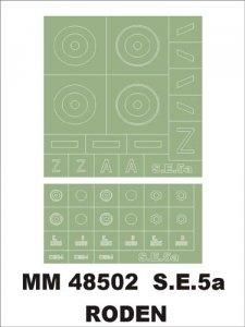 Montex MM48502 SE-5a RODEN 1/48