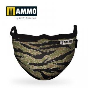 Ammo of Mig 8069 Tiger Camo AMMO Face Mask