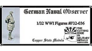 Copper State Models F32-036 German Naval Observer 1:32