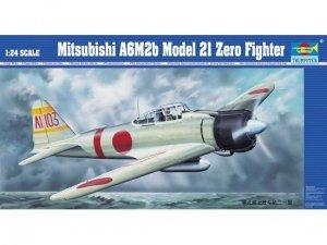 Trumpeter 02405 Mitsubishi A6M2b Model 21 Zero Fighter (1:24)