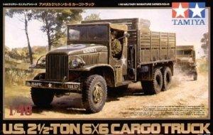 Tamiya 32548 US 2.5 Ton 6x6 Cargo Truck (1:48)