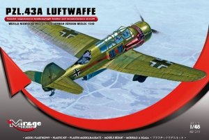 Mirage Hobby 481311 PZL.43A Luftwaffe FWM Mielec 1940 version (1:48)