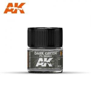 AK Interactive RC342 DARK GREEN FS 34064 10ML