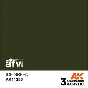 AK-Interactive AK 11355 IDF Green 17ml