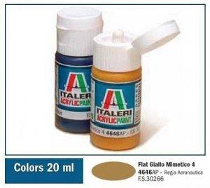 Italeri 4646 FLAT GIALLO MIMETICO 4 20ml