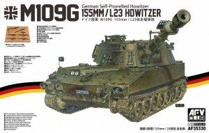 AFV Club AF35330 German Self-Propelled Howitzer M109G 155mm /L23 Howitzer 1/35