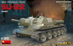 MiniArt 35197 SU-122 Mid Production w/Interior 1/35