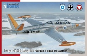 Special Hobby 72373 Fouga CM.170 Magister German, Finnish and Austrian (1:72)