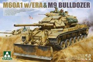 Takom 2142 M60A1 w/ERA & M9 Bulldozer 1/35
