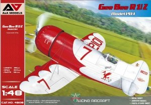 A&A Models 4808 Gee Bee R1/R2 (1934 version) 1/144
