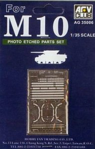 AFV Club AG35006 Photo Etching parts for M-10 1:35